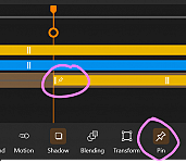Snap overlay to clip position